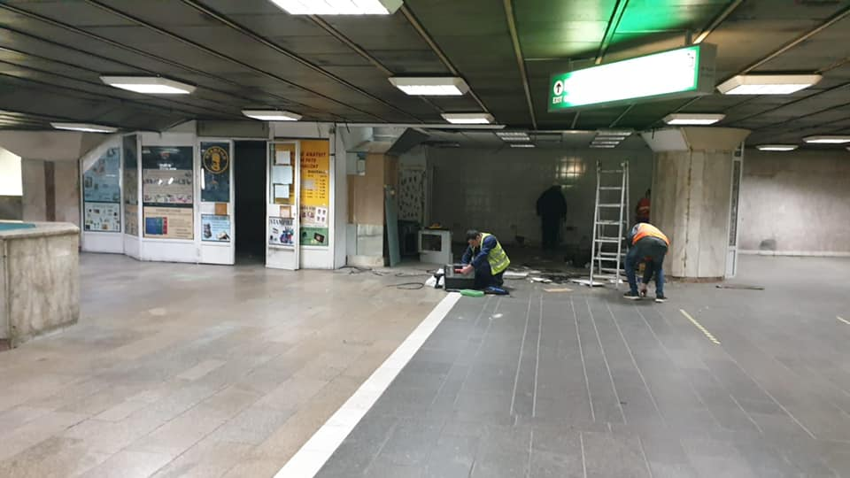 Spatii comerciale metrou Gara de Nord