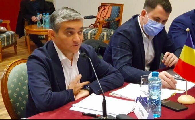 Vlad Oprea primar Sinaia