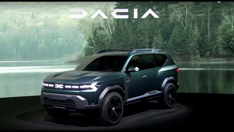 Dacia new logo Bigster