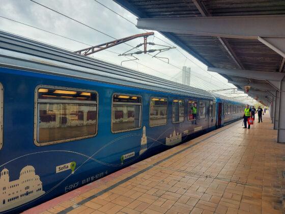 tren connecting europe express